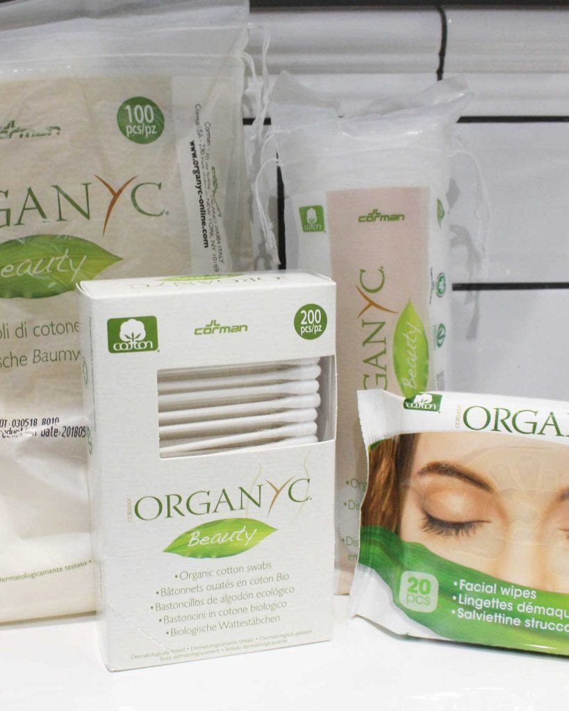 Biodegradable Organyc Beauty Essentials