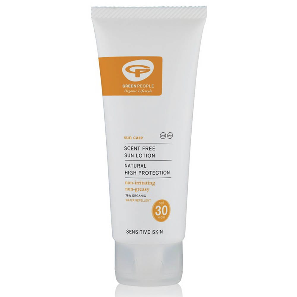 Green People Travel Size Scent Free Sun Lotion
