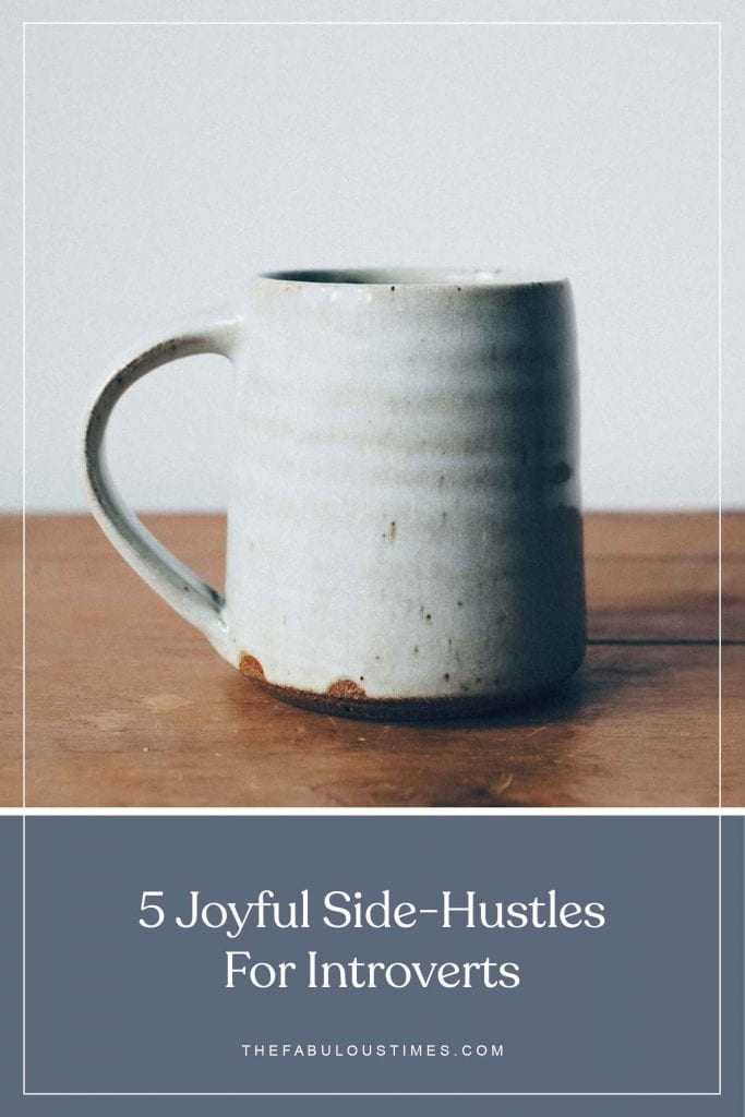 side hustles for introverts