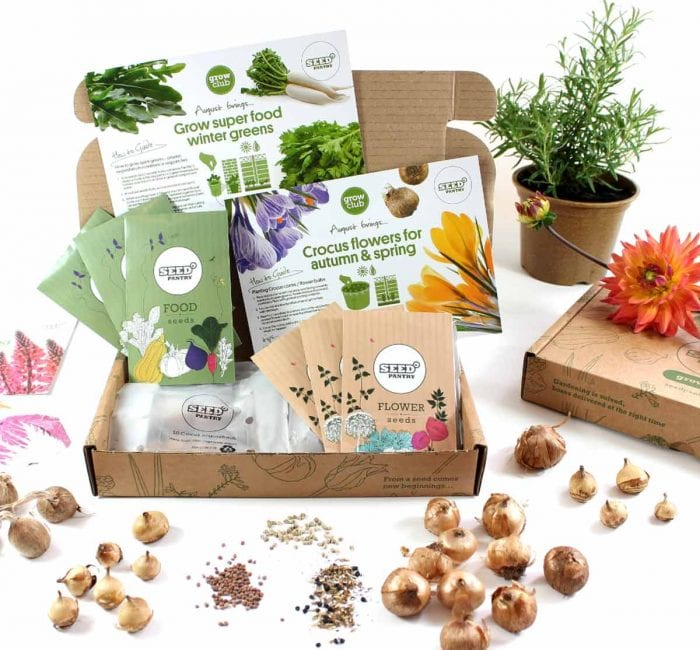 eco friendly seed subscription box