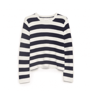 KOWTOW STRIPE SWEATER NAVY