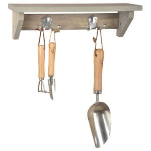 Natural Collection Garden Small Tool Shelf
