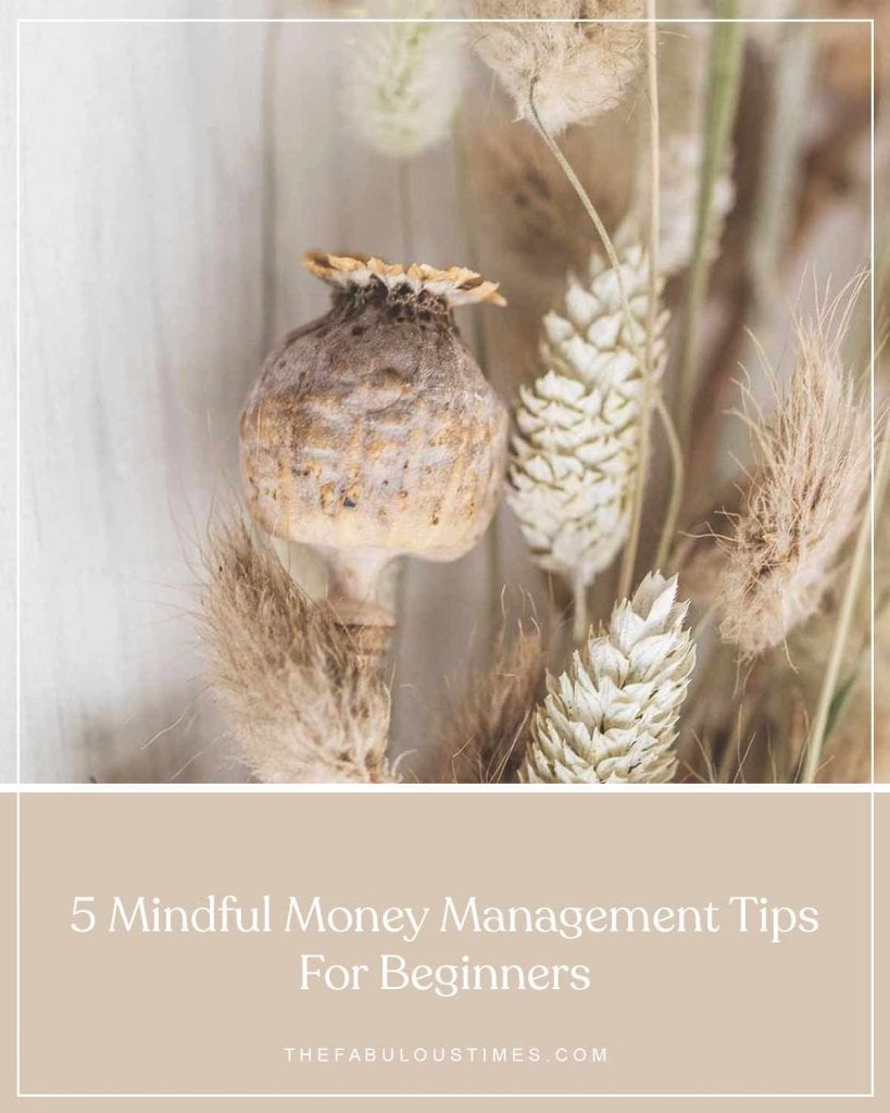 mindful money management for beginners