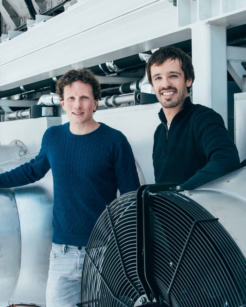 Climeworks founders Jan Wurzbacher & Christoph Gebald1