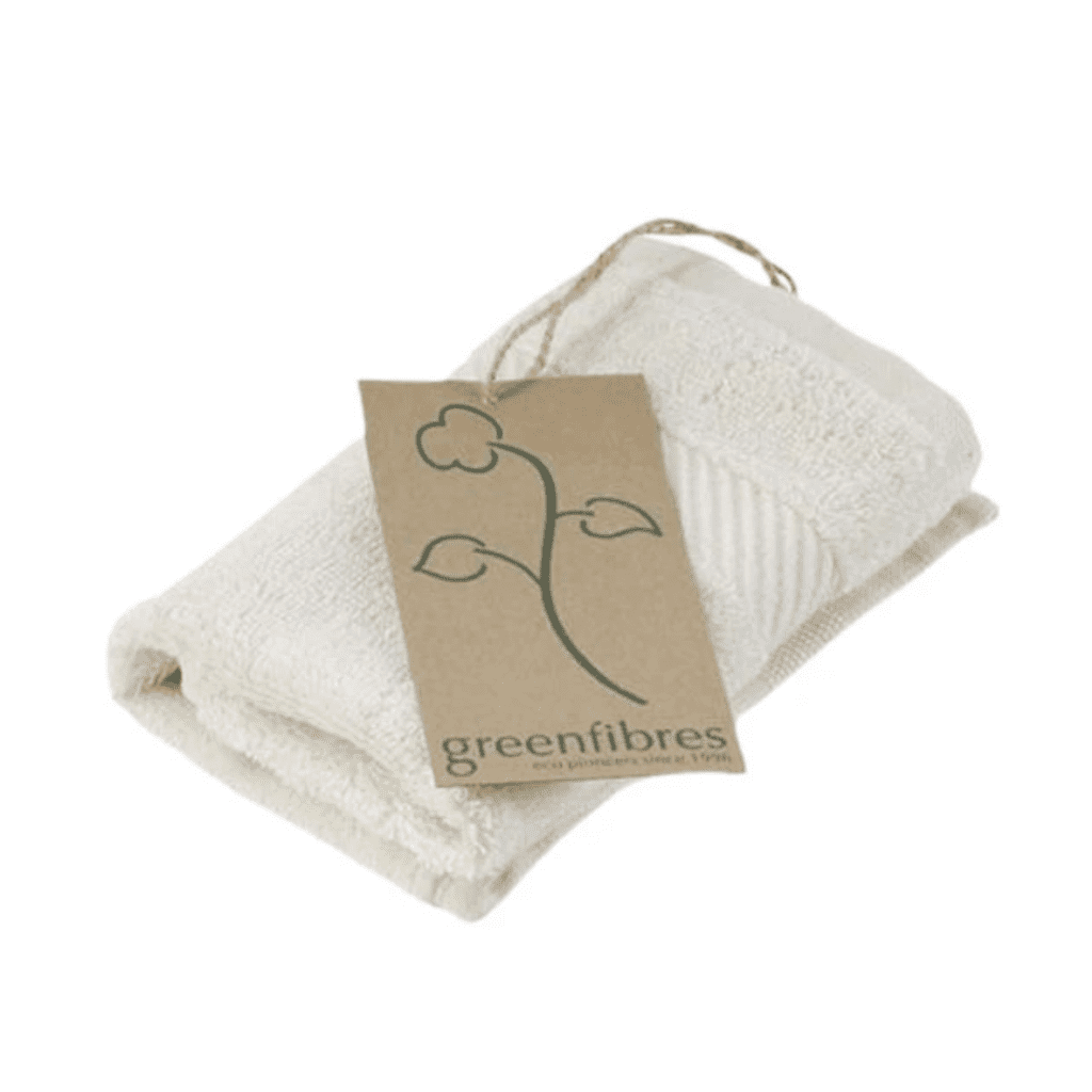 organic cotton terry washcloth