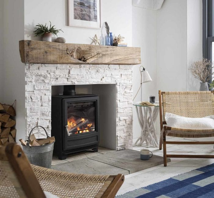 environmentally-friendly wood burning stove