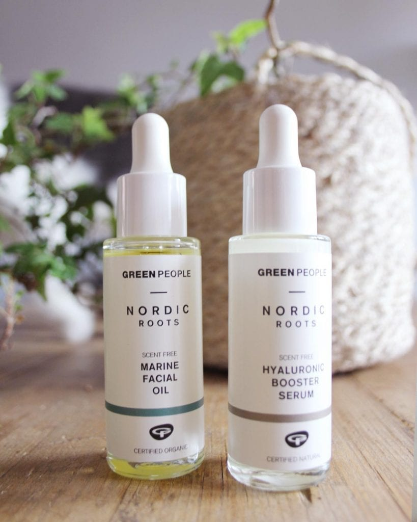 WIN! Green People Nordic Roots Serum And Facial Oil