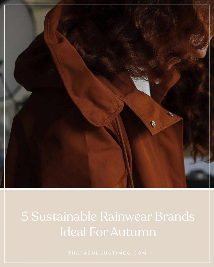 sustainable rainwear