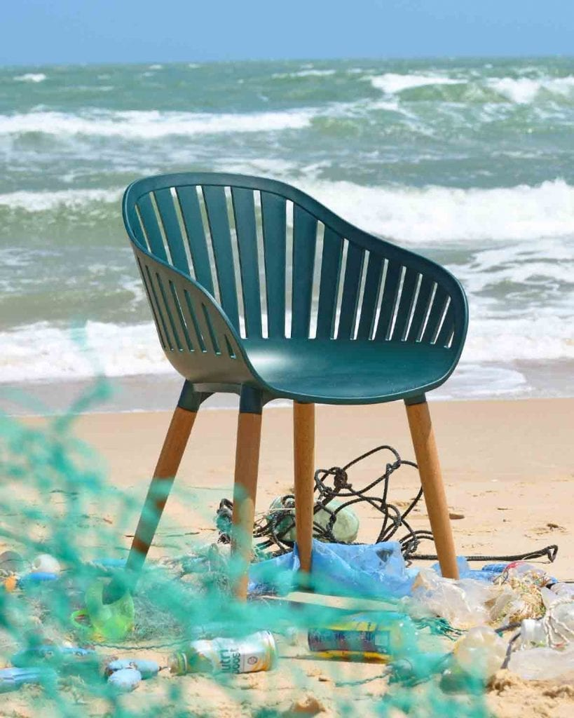Recycled Ocean Plastic Furniture